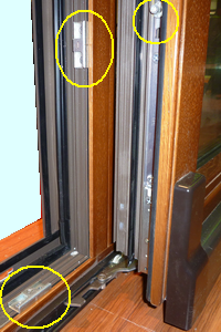 multi lock point of doors